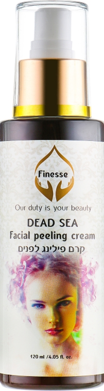 Пилинг-крем для лица - Finesse Dead Sea Facial Peeling Cream