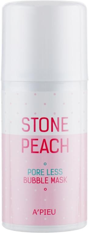 Кислородная очищающая маска - A'pieu Stone Peach Poreless Bubble Mask