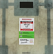 Духи, Парфюмерия, косметика Весы напольные - Soehnle Style Sense Compact 300 Concrete