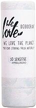 Духи, Парфюмерия, косметика Твёрдый дезодорант для чувствительной кожи - We Love The Planet So Sensitive Deodorant Stick