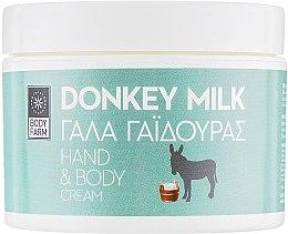 """Духи, Парфюмерия, косметика Крем для рук и тела """"Ослиное молоко"""" - Bodyfarm Donkey Milk Hand & Body Cream"""