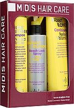 """Парфумерія, косметика Набір """"Ідеальний Обсяг. Сяючий блонд"""" - Mades Cosmetics (sham/250ml + cond/250ml + spray/200ml)"""