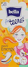 Духи, Парфюмерия, косметика Прокладки ежедневные гигиенические Bella Panty for Teens Energy, 58 шт - Bella