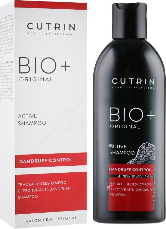 Шампунь от перхоти - Cutrin Bio+ Original Active Shampoo