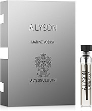 Духи, Парфюмерия, косметика Alyson Oldoini Marine Vodka - Парфюмированная вода (пробник)
