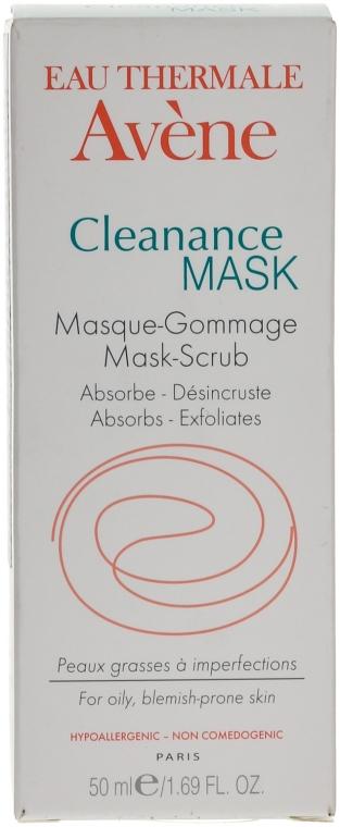 Маска-гоммаж абсорбирующая для глубоко очищения проблемной кожи - Avene Exfoliating Absorbing Cleanance Mask