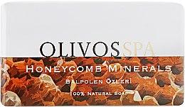 """Духи, Парфюмерия, косметика Натуральное оливковое мыло """"Медовые соты"""" - Olivos Spa Series Honeycomb Minerals"""