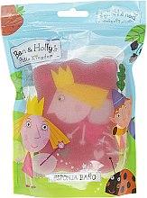 Духи, Парфюмерия, косметика Мочалка банная детская, Princess Holly, розовая - Suavipiel Ben & Holly's Bath Sponge