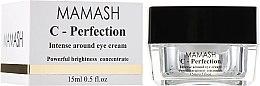 Духи, Парфюмерия, косметика Активный крем под глаза с витамином С - Mamash Organic С-Perfection Intense Around Eye Cream