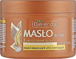 Духи, Парфюмерия, косметика Увлажняющее масло для тела с драгоценными маслами - Bielenda Golden Oils
