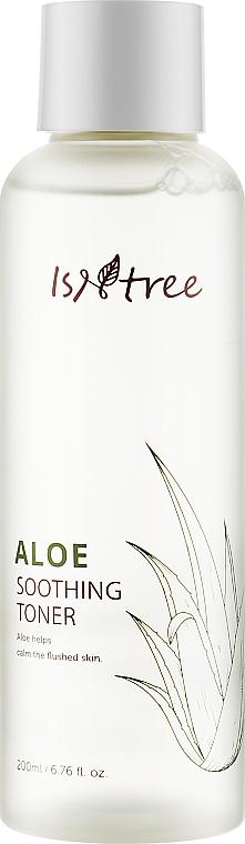 Успокаивающий тонер с экстрактом алоэ - Isntree Aloe Soothing Toner