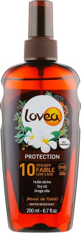 Сухое масло для загара - Lovea Protection Dry Oil Spray SPF10