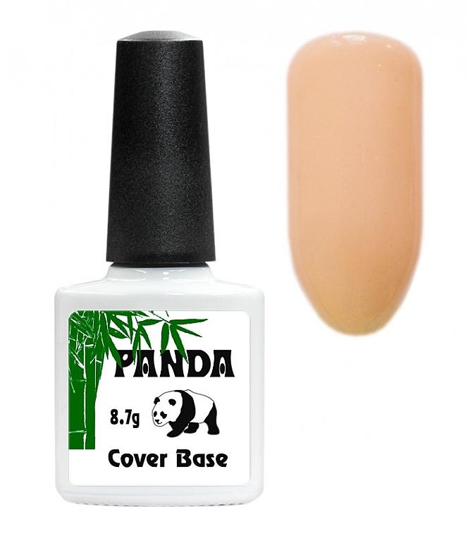 Цветная каучуковая база с шиммером - Panda Shine Color Rubber Base