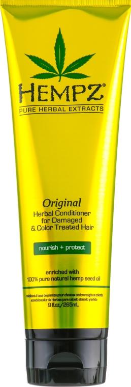 """Кондиционер растительный """"Оригинальный"""" для поврежденных и окрашенных волос - Hempz Original Herbal Conditioner For Damaged & Color Treated Hair"""