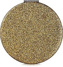 Духи, Парфюмерия, косметика Зеркало косметическое круглое, золотое - Lily Cosmetics