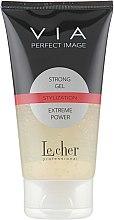 Духи, Парфюмерия, косметика Гель для волос экстра-сильной фиксации - Lecher Professional Via Perfect Image Strong Gel