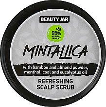 "Духи, Парфюмерия, косметика Скраб-шампунь очищающий для кожи головы ""Mintallica"" - Beauty Jar Refreshing Scalp Scrub"