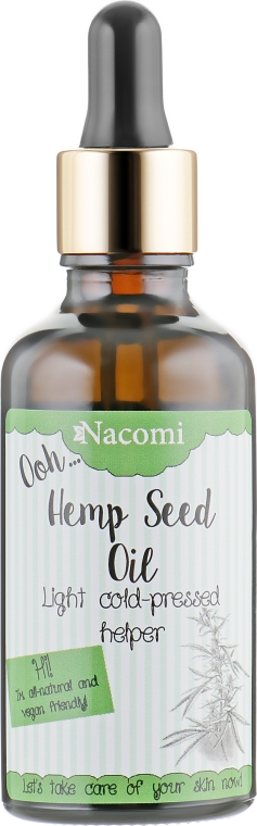 Масло семян конопли - Nacomi Ooh Hemp Seed Oil