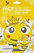 Духи, Парфюмерия, косметика Тканевая маска для лица - Face Facts Honey Moisturising Sheet Mask