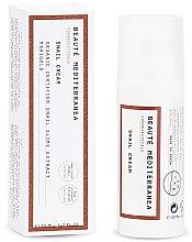 Духи, Парфюмерия, косметика Омолаживающий крем для лица с секретом улитки - Beaute Mediterranea Snail Cream
