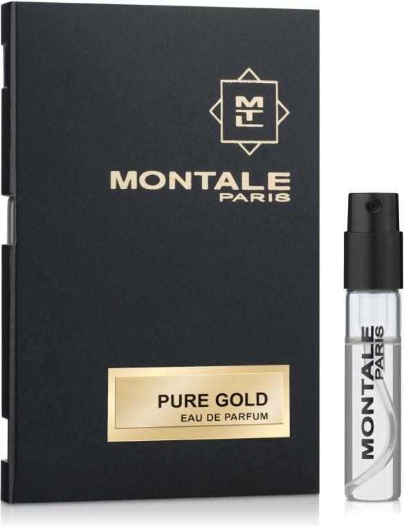 Montale Pure Gold - Парфюмированная вода (пробник)