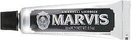 "Духи, Парфюмерия, косметика Зубная паста ""Amarelli Licorice"" с ксилитолом - Marvis Amarelli Licorice (мини)"