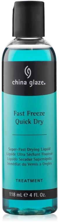 Сушка для лаку швидкої дії - China Glaze Fast Freeze Quick Dry — фото N1