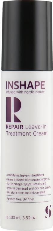 Укрепляющий несмываемый лечебный крем - Inshape Repair Leave-in Treatment Cream