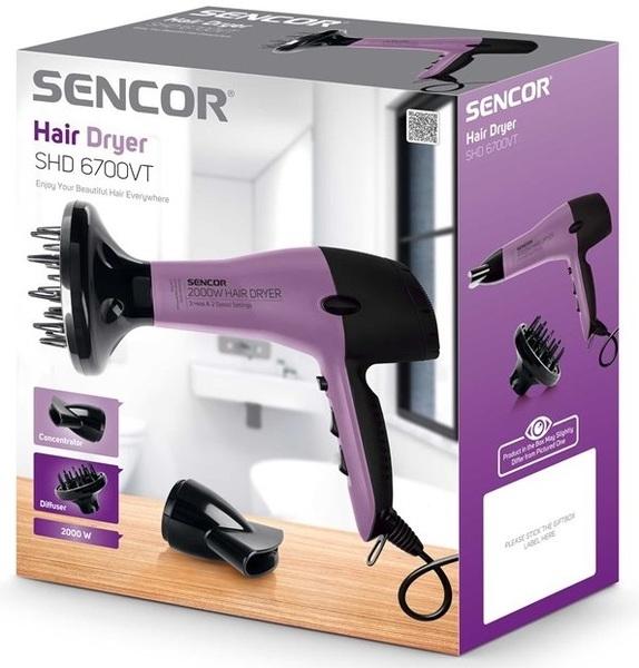 Фен SHD 6700VT - Sencor