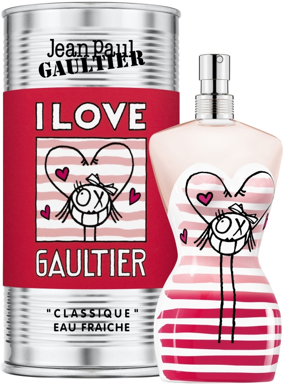 Jean Paul Gaultier Classique I Love Gaultier Eau Fraiche - Туалетная вода