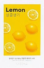 Духи, Парфюмерия, косметика Маска для лица с экстрактом лимона - Missha Airy Fit Lemon Sheet Mask