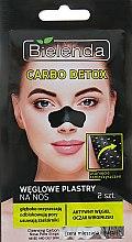 Парфумерія, косметика Пластир для видалення вугрів - Bielenda Carbo Detox Weglome Plastry