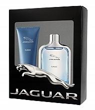 Духи, Парфюмерия, косметика Jaguar Classic - Набор (edt/100ml + sh/gel/200ml)