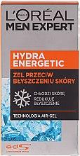 """Увлажняющий гель """"Ледяной эффект"""" - L'Oreal Paris Men Expert Hydra Energetic — фото N5"""