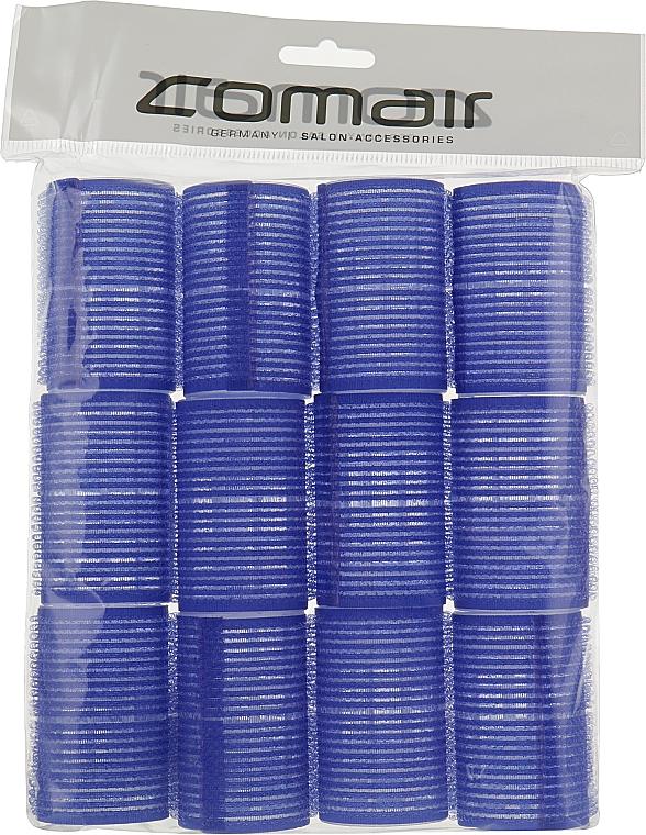 "Комплект бигуди-липучки ""Velcro plus"", 12 штук, 40мм, синие - Comair"