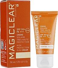 Духи, Парфюмерия, косметика Солнцезащитный тонирующий крем - MagiClear Sun Cream
