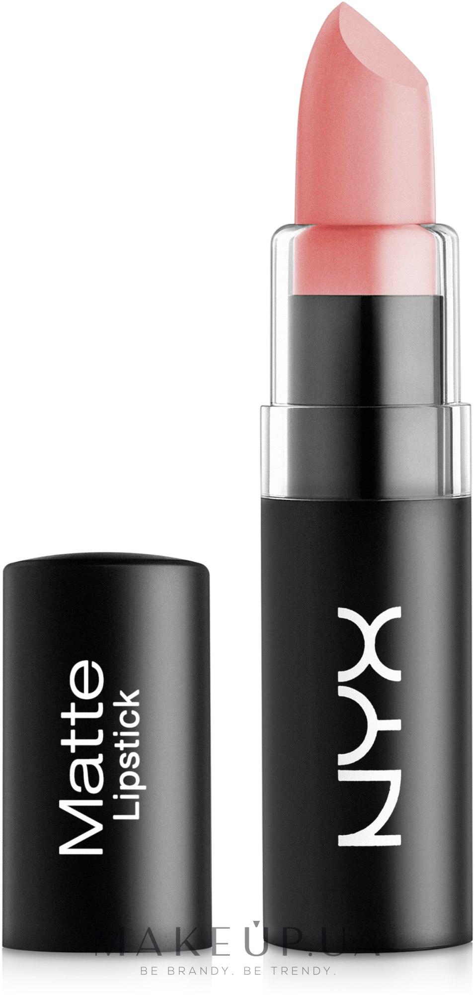 Матовая помада для губ - NYX Professional Makeup Matte Lipstick — фото 01 - Nude