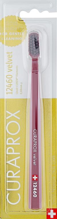 Зубная щётка «Velvet CS 12460», бордовая - Curaprox