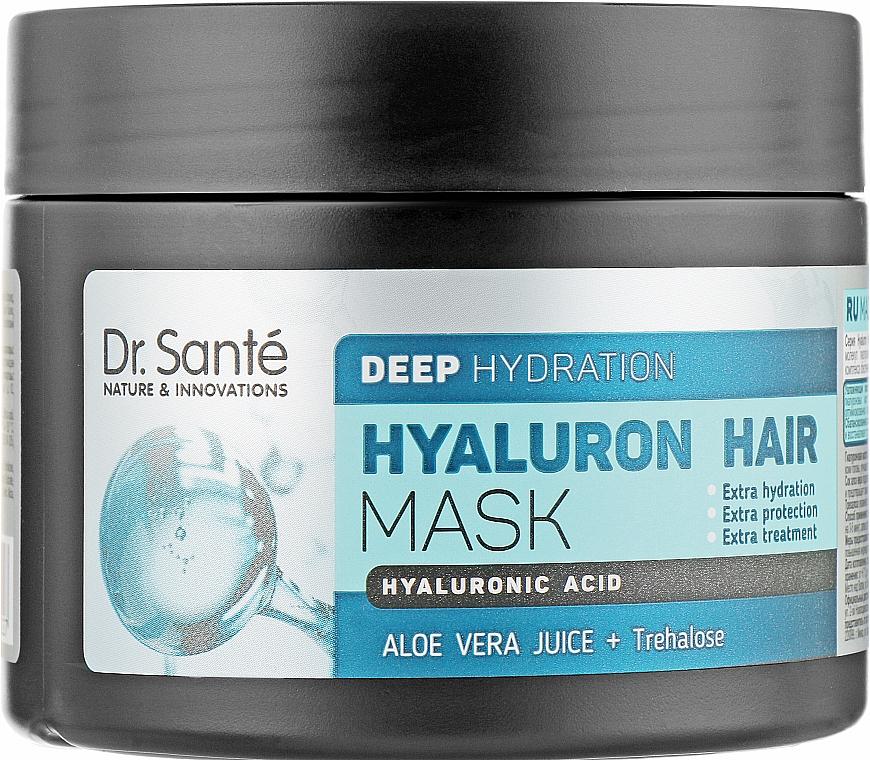 Маска для глубокого увлажнения волос - Dr. Sante Hyaluron Hair Deep Hydration Mask