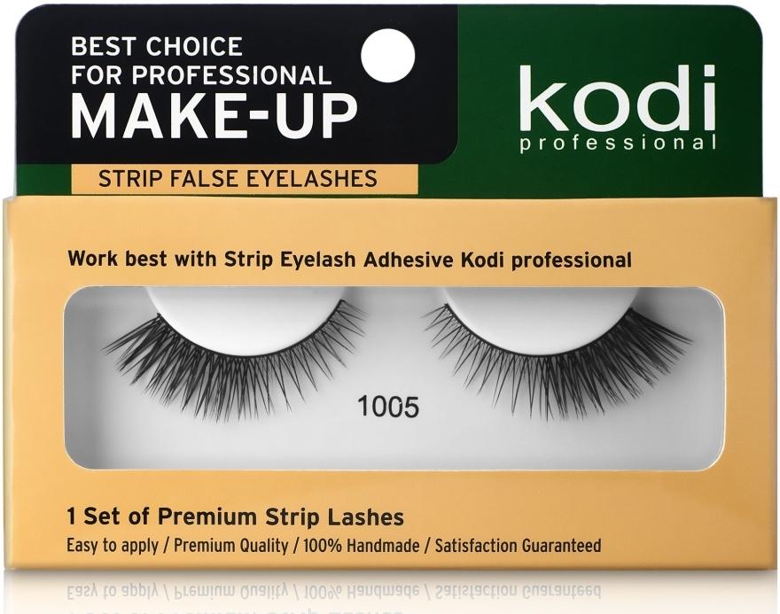 Ресницы накладные ленточные - Kodi Professional