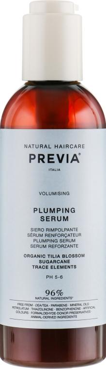 Сыворотка для придания объема - Previa Tilia Blossom Serum Volumizing