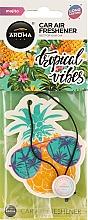 Духи, Парфюмерия, косметика Ароматизатор для авто - Aroma Car Fruits Tropical Vibes Pineapple Mohito