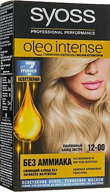 Крем-осветлитель для волос - Syoss Oleo Intense