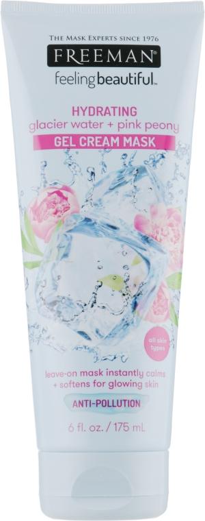 """Крем-маска гелевая """"Ледниковая вода и розовый пион"""" - Freeman Feeling Beautiful Gel Cream Mask"""