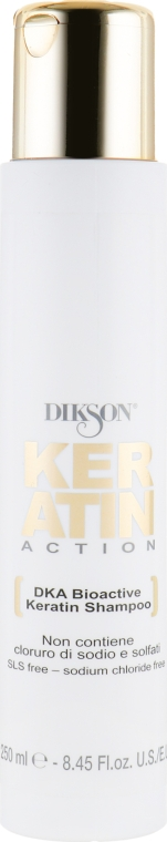 Биоактивный кератиновый шампунь - Dikson Keratin DKA Bioactive Shampoo