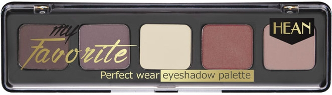 Палетка теней для век - Hean My favorite Eye Shadow Palette — фото N1