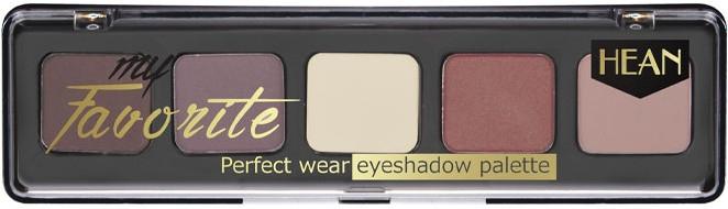 Палетка теней для век - Hean My favorite Eye Shadow Palette