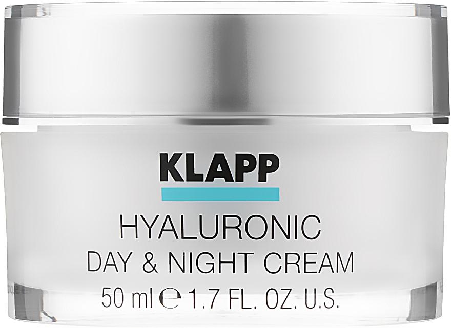"""Крем """"Гиалуроник"""" для дневного и ночного применения - Klapp Hyaluronic Day & Night Cream"""