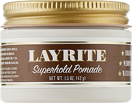 Духи, Парфюмерия, косметика Помада для укладки волос - Layrite Super Hold Pomade