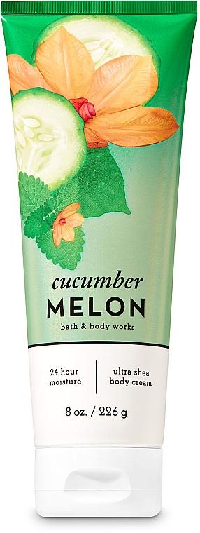 "Крем для тела ""Смесь дыни и огурца"" - Bath and Body Works Cucumber Melon Ultra Shea Body Cream"